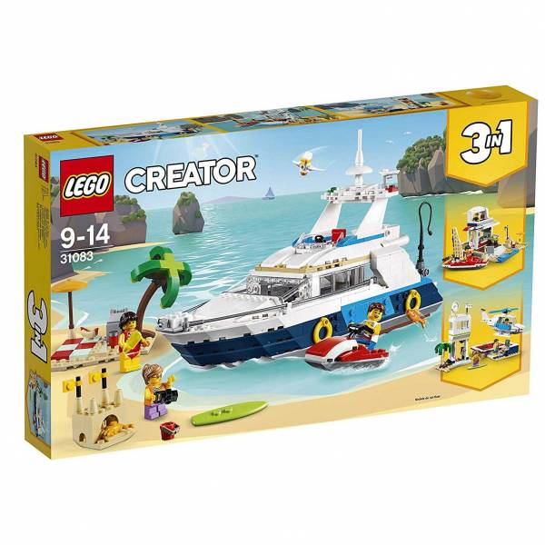 LEGO 樂高 31083 巡航探險 樂高,lego,3合1,31083,巡航探險,creator
