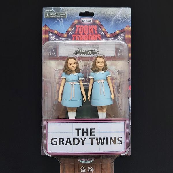 NECA 鬼店 The Shining | The Grady Twins | 鬼店小女孩 | 鬼店雙胞胎姊妹 | 6吋可動公仔 | 全新外拆