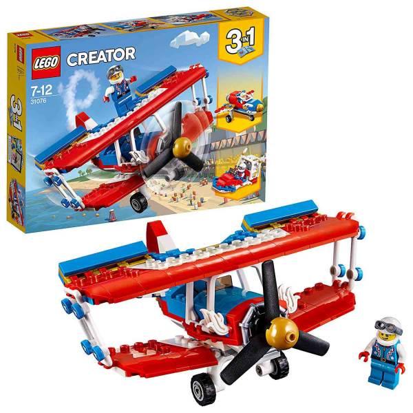 LEGO 樂高 31076 瘋狂特技飛機 LEGO,樂高,31076,瘋狂特技飛機,積木,三合一,3合1
