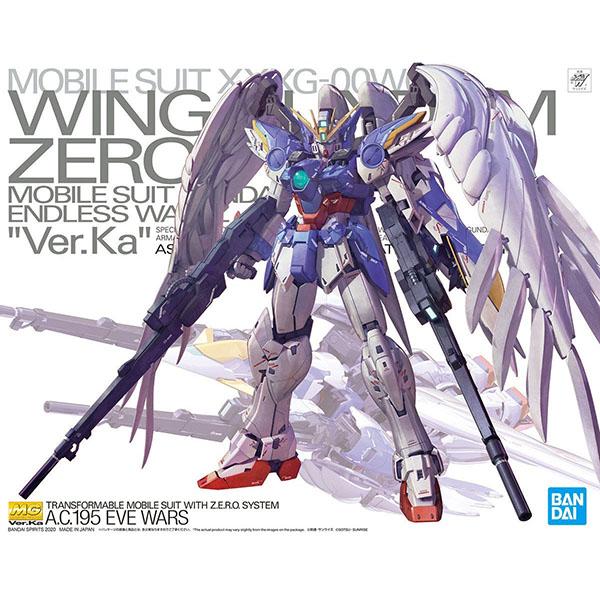 BANDAI 萬代 | MG 1/100 飛翼鋼彈零式EW Ver.Ka | 組裝模型