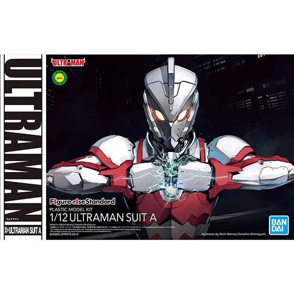 BANDAI 萬代 Figure-rise Standard 1/12 超人力霸王戰鬥服 A 組裝模型