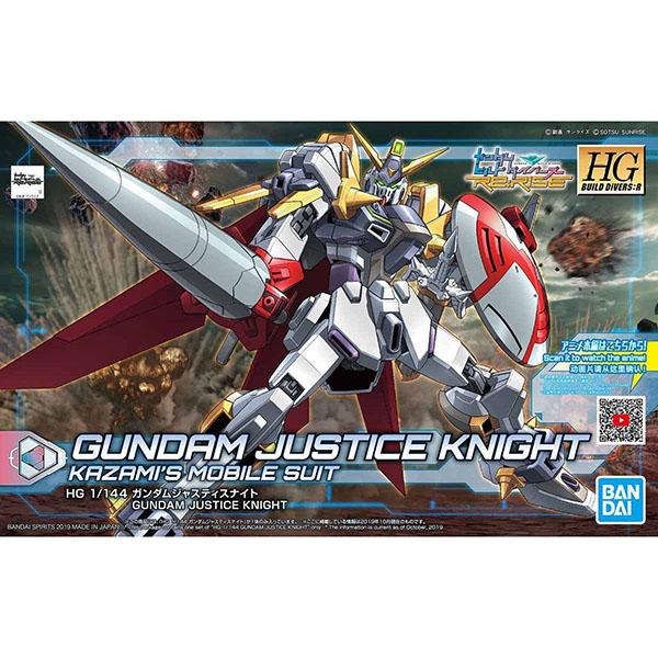 BANDAI 萬代 | HGBD:R 1/144 正義騎士鋼彈 | 組裝模型