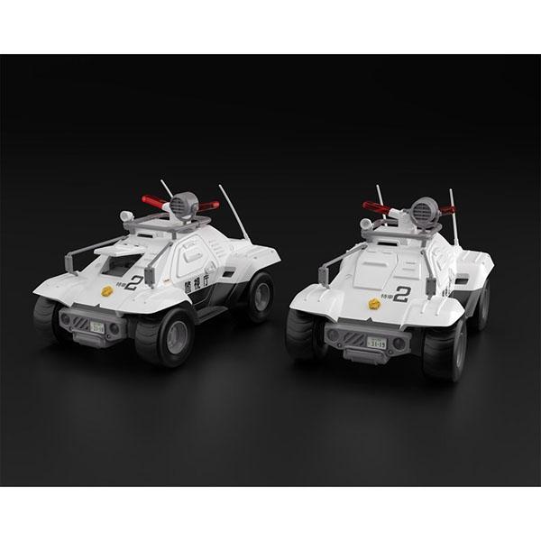 AOSHIMA 青島模型 | 1/43 機動警察 | 98式特型指揮車 | 2台套組 | 組裝模型 (預訂2021年10月)