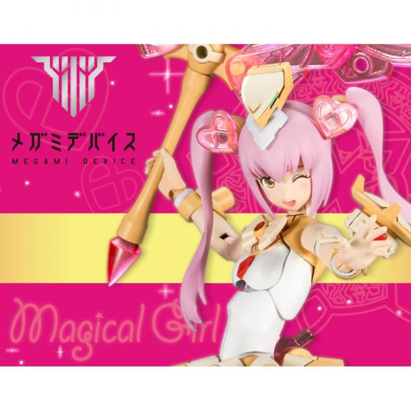 KOTOBUKIYA 壽屋 代理 Megami Device 女神裝置 Chaos & Pretty 魔法少女 組裝模型 一般版