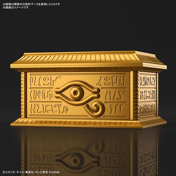 "BANDAI 萬代   ULTIMAGEAR 遊戲王   千年積木收納箱 ""黃金櫃"" 組裝模型 (預訂2022年2月)"