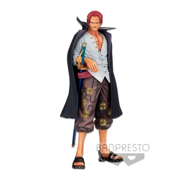BANPRESTO 航海王   海賊王   BANPRESTO CHRONICLE MSP 紅髮傑克 (預訂2021年12月)