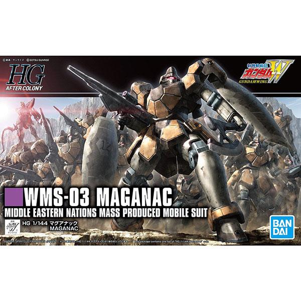 BANDAI 萬代   HGAC #223 1/144 新機動戰記鋼彈W   馬格亞納克   組裝模型