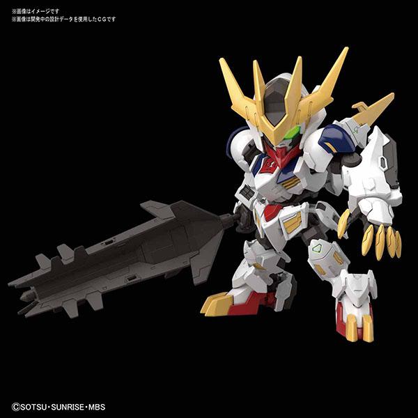 BANDAI 萬代   SDCS 天狼王型獵魔鋼彈   組裝模型