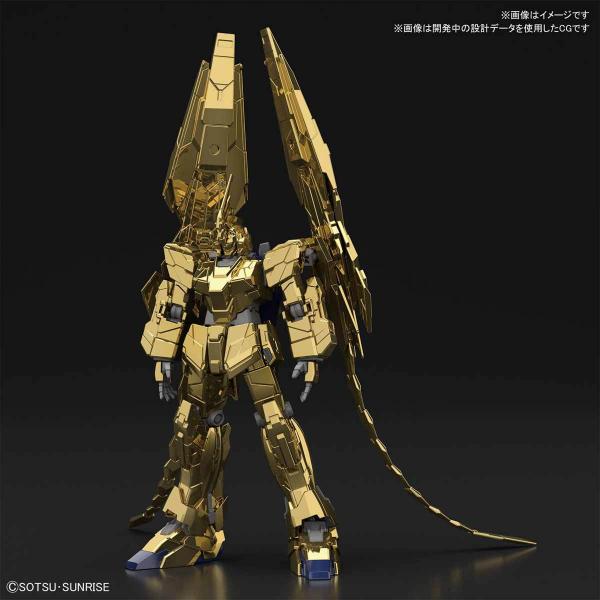 (預訂2019年8月) HGUC 1/144 獨角獸鋼彈3號機 鳳凰(獨角獸模式) (NT Ver.)[金色電鍍版] 組裝模型 5058087