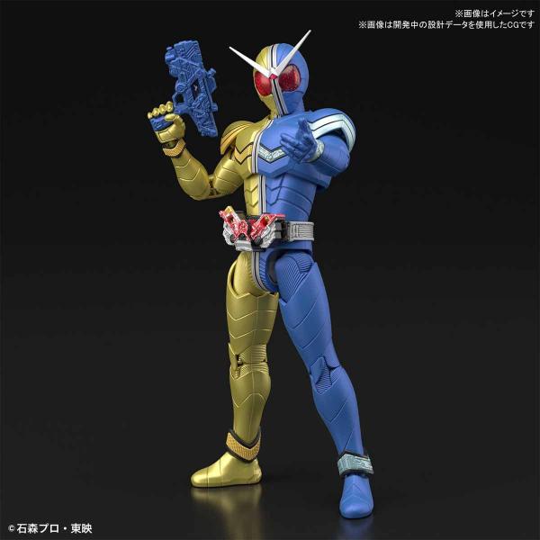 BANDAI 萬代 Figure-rise Standard 假面騎士W | 月神槍手型態 | 組裝模型 (預計2019年9月)