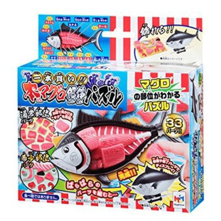 Megahouse 百萬屋 | 代理版 | 買一整條魚!金槍魚趣味拼圖 | 趣味桌遊