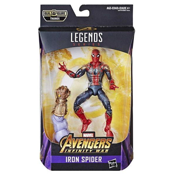 Hasbro 孩之寶 漫威全明星角色傳奇6吋收藏人物 蜘蛛人