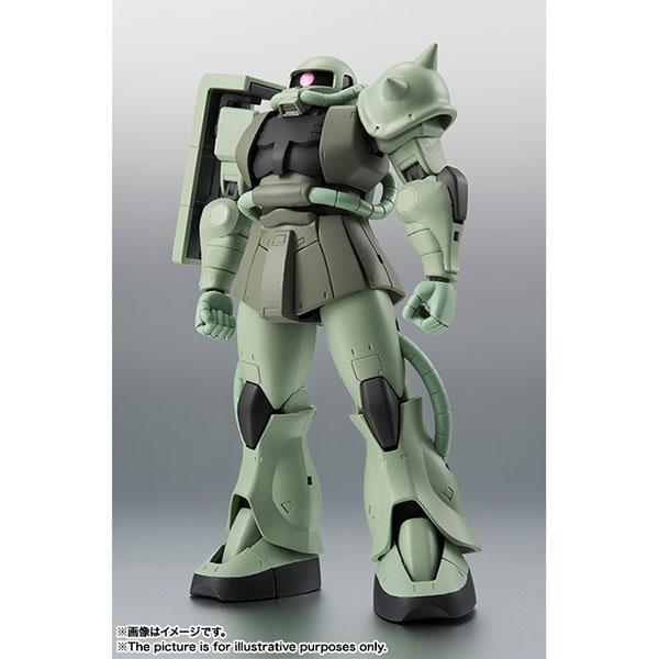 BANDAI 萬代   代理版   ROBOT魂   MS-06 量產型薩克   ver. A.N.I.M.E. 再販 (預訂2019年10月)