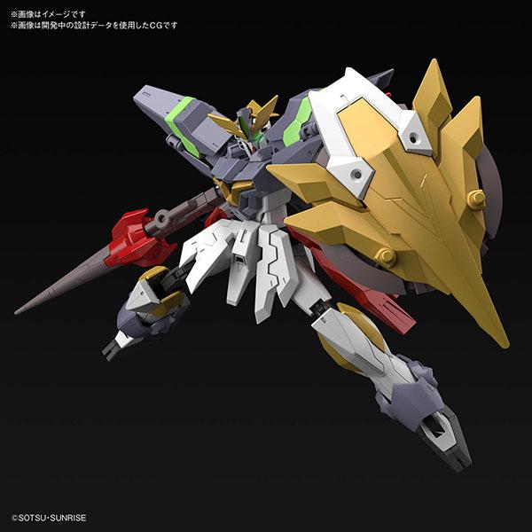 BANDAI 萬代 | HGBD:R #033 1/144 《鋼彈創鬥者潛網大戰Re:RISE 2nd season》 神盾騎士鋼彈 | 組裝模型