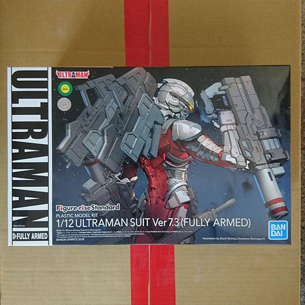 BANDAI 萬代   Figure-rise Standard 1/12 超人力霸王   戰鬥服 Ver7.3 (全武裝) 組裝模型
