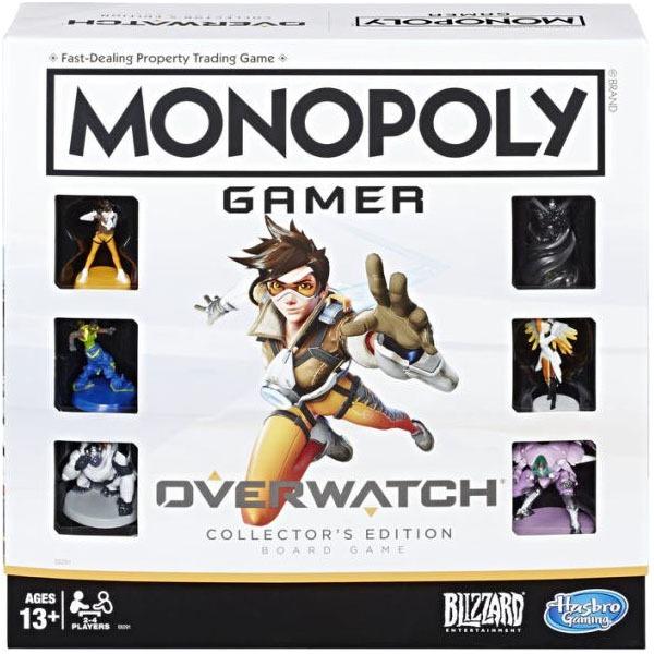 Hasbro 孩之寶   代理版   地產大亨-鬥陣特攻 Overwatch 收藏版 (預訂2019年6月)