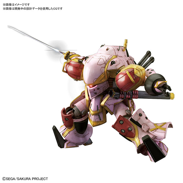 BANDAI 萬代 | HG 1/24 靈子戰鬥機・無限 (天宮 櫻 座機) 組裝模型