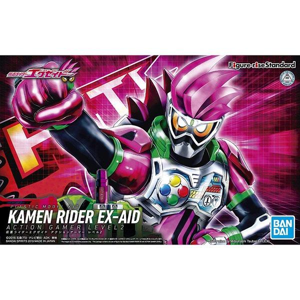 BANDAI 萬代 Figure-rise Standard 假面騎士 EX-AID 行動玩家 LEVEL2 組裝模型