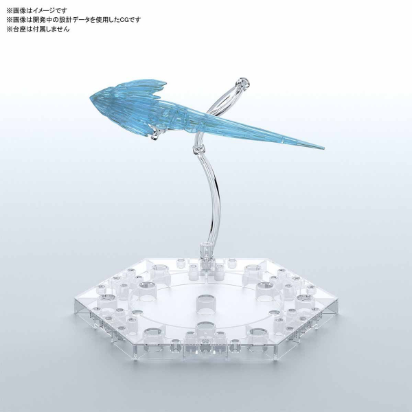 BANDAI 萬代 Figure-rise Effect噴射特效零件組(透明藍) 組裝模型