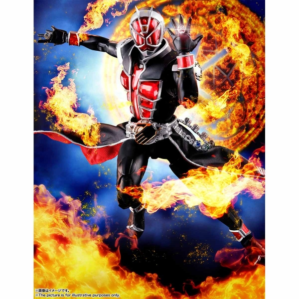 BANDAI 萬代 SHF S.H.Figuarts 假面騎士 | 真骨彫製法 WIZARD FLAME STYLE 火焰型態