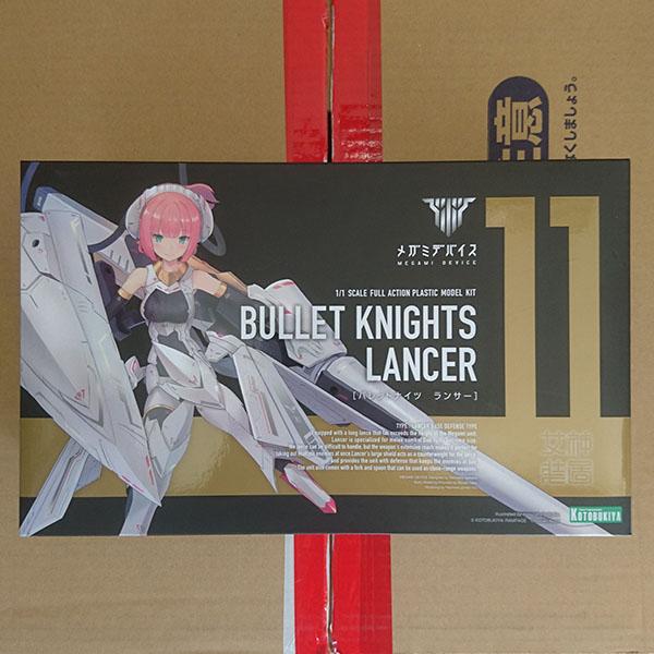 KOTOBUKIYA 壽屋 | Megami Device 女神裝置 11 銃彈騎士 | 槍兵 | Lancer 組裝模型