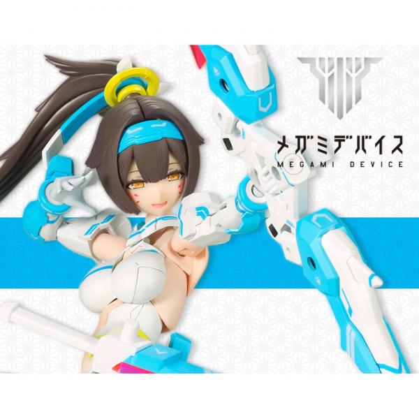 KOTOBUKIYA 壽屋 代理 Megami Device 女神裝置 朱羅 弓兵 蒼衣 Ver. 組裝模型 一般版