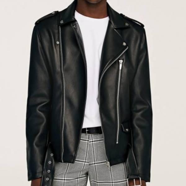 一般合成皮外套 Synthetic leather coat 合成皮外套乾洗