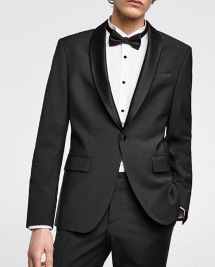 男裝禮服2件式 Cocktail Suit(2-Piece) 宴會西裝送洗