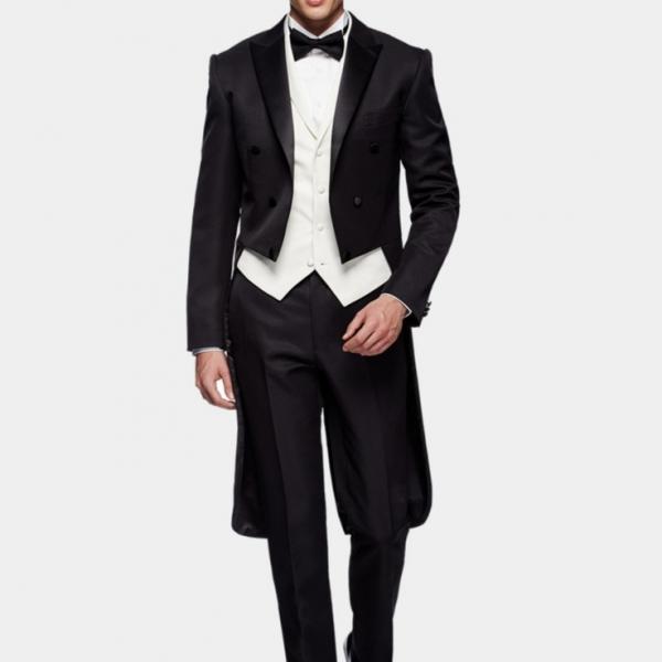 燕尾服2件式Tailcoat Suit(2-Piece) 燕尾服乾洗