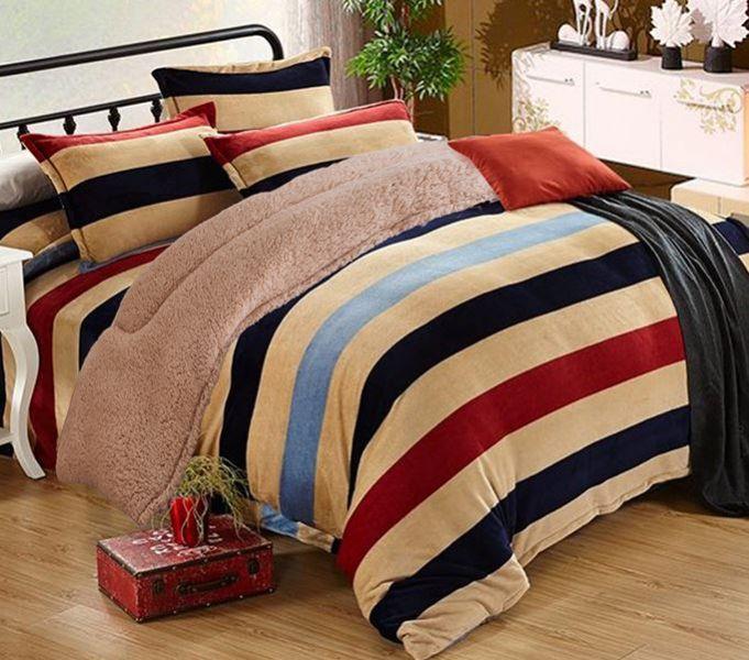 夾棉絨毯被(雙人) 洗絨毯被