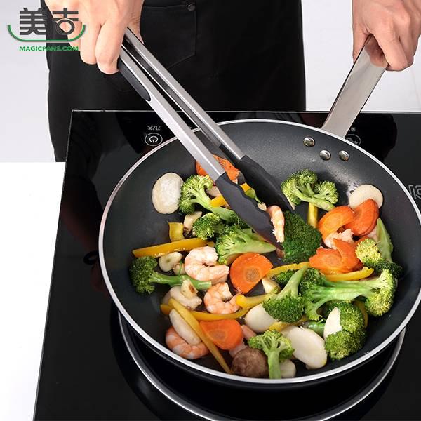 【美吉】不沾鍋專用耐熱料裡夾(大) 料理夾