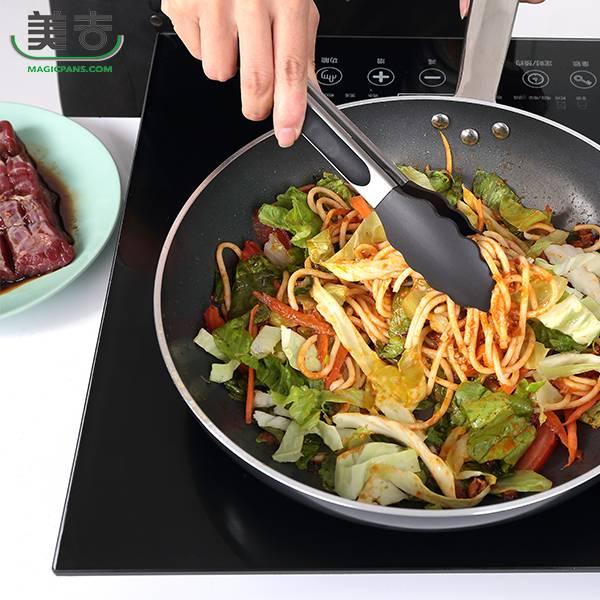 【美吉】不沾鍋專用耐熱料裡夾(小) 料理夾
