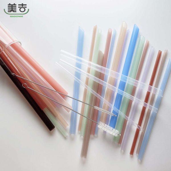 【美吉吸管】『裸裝全尺寸』套組環保吸管《SGS認證│生醫級》 環保吸管,塑膠吸管,一次性吸管
