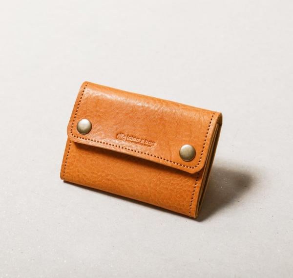 真皮零錢短夾 錢包 (可客製刻字)  真皮零錢短夾