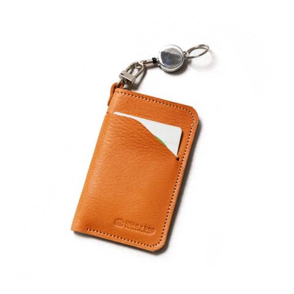 真皮伸縮票卡匣 票卡夾 卡套 禮品 客製刻字 真皮伸縮票卡匣