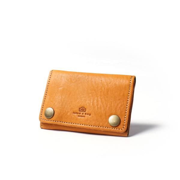 萬國兩用皮革零錢小皮夾 皮夾,短夾,錢包