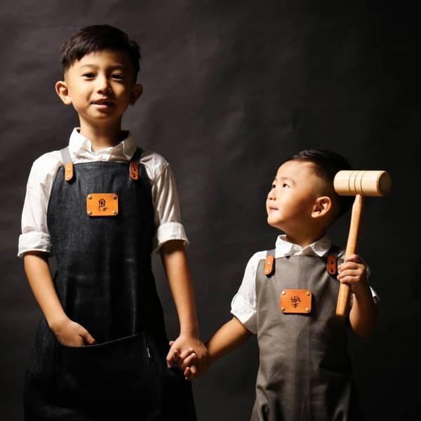 兒童工作圍裙 (含雷雕費用) 兒童工作圍裙