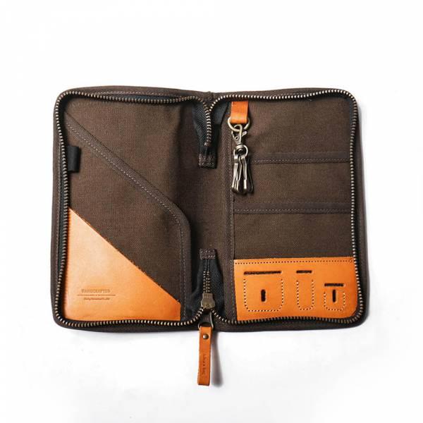 【icleaXbag】leather passport holder  leather passport holder