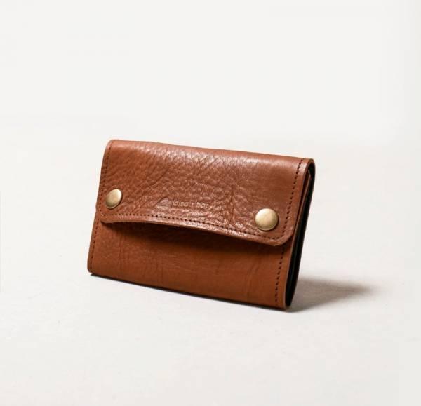 真皮零錢短夾 錢包 咖啡色 真皮零錢短夾