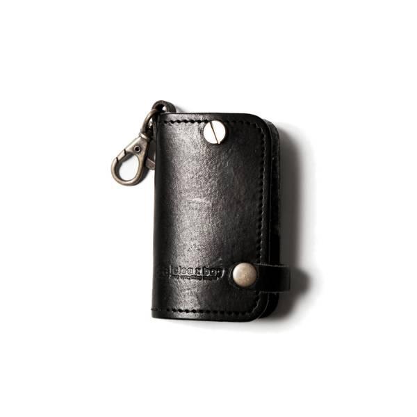 真皮汽車鑰匙包/黑色 真皮汽車鑰匙包