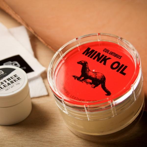 日本貂油皮革保養油