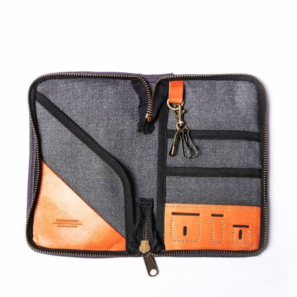 【icleaXbag】leather passport holder  leather passport holder