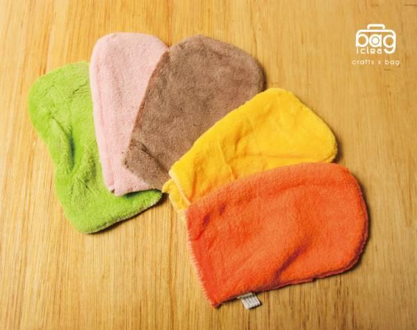 多彩棉質擦拭手套(顏色隨機)
