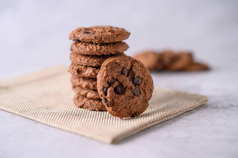 厚片手工巧克餅乾