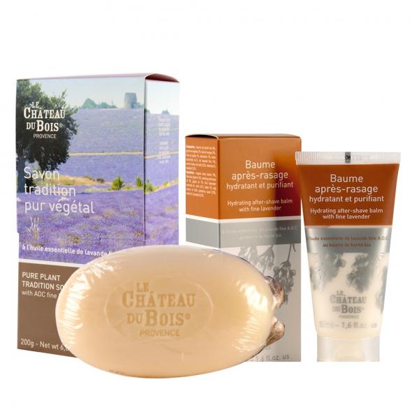 夏日人氣商品:200g乳油木皂+50ml鬚後膏