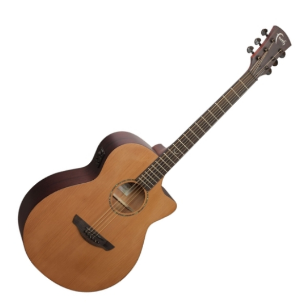 Faith 英國名牌 FKVCD 41吋 可插電 全單板 民謠吉他 附贈吉他硬盒 CASE 印尼製【型號:FKVCD/木吉他/電木吉他】