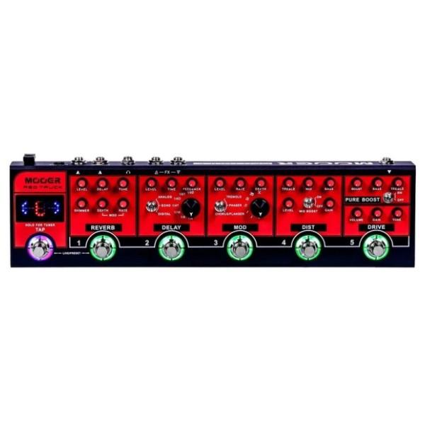 Mooer RT 電吉他綜合效果器【Red Truck】【原廠公司貨/一年保固】