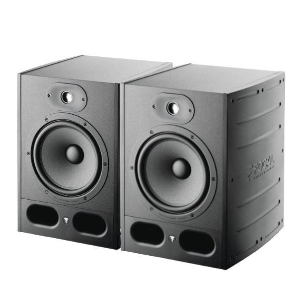Focal Alpha80 主動式監聽喇叭/8吋錄音室專用【黑色/一對兩顆/台灣公司貨保固/Alpha-80】