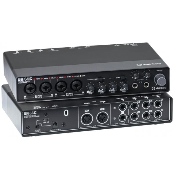 Steinberg UR44C 錄音介面 USB3.0介面 32-bit/ 192kHz取樣率【四進四出】YAMAHA