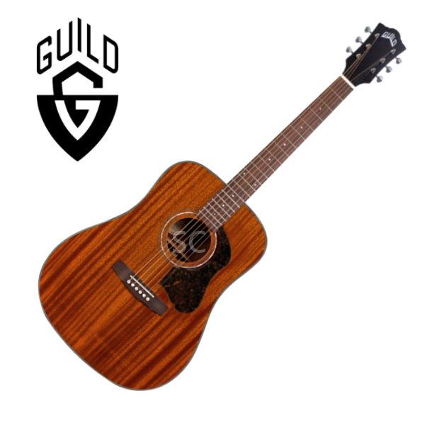 Guild 吉他 D-320 桃花心木 面單板 / 桃花心木側背板 附 Guild 吉他厚袋 D320 guild吉他